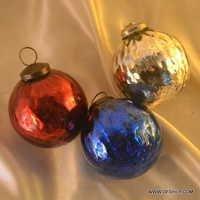Christmas ornament Balls, Decorative Antique Christmas Ball Hanging