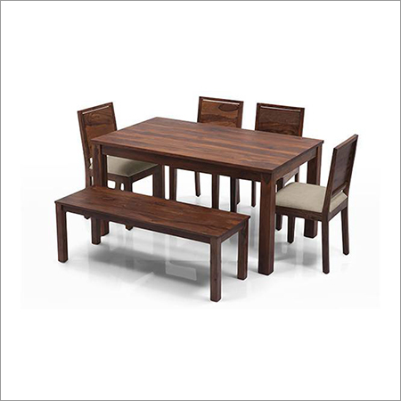 Dinning Table Set With Bench