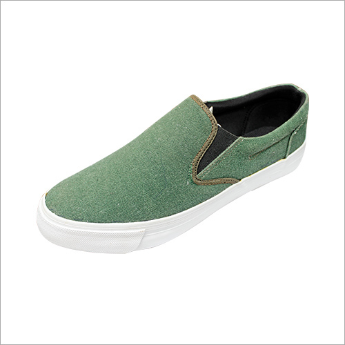 Men's Green Loafers