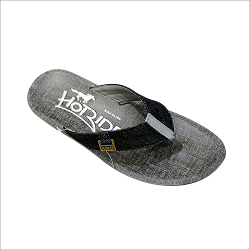 Men's  Black Slipper