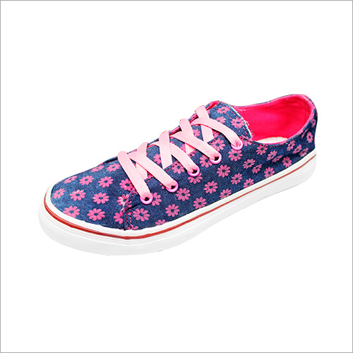 Girl's Printed Canvas Shoes