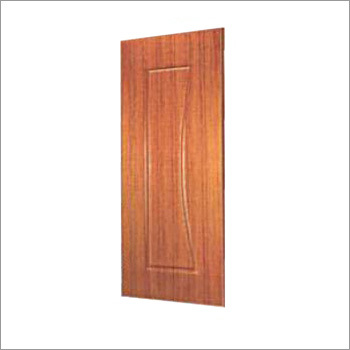 Single Panel Woodgrain Finish Door