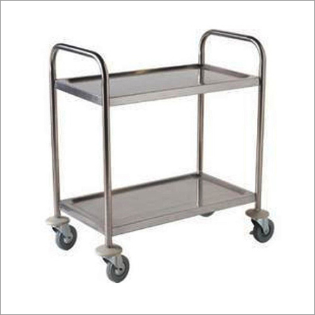 Two Shelf Lab Trolley