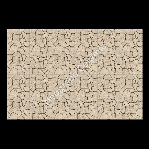 Digital Crystal Crack Beige