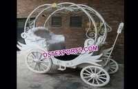 White Mini Cinderella Entrance Buggy