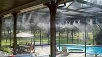 Outdoor Cooling Misting System
