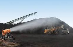 Dust Suppression System in Coal Handling Plant