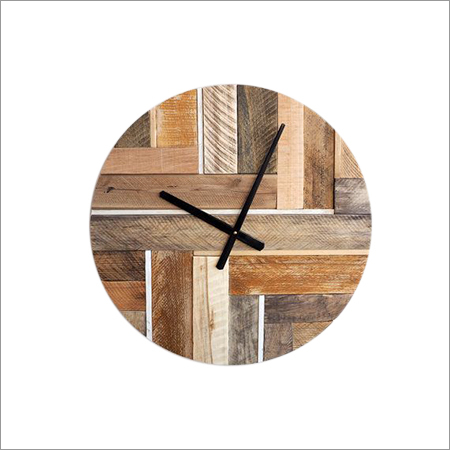 White Rustic Wall Clocks