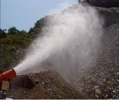 Dust Suppression System in Mines