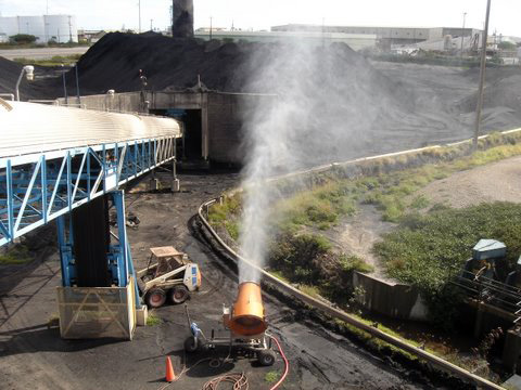 Coal Handling Dust Suppression System