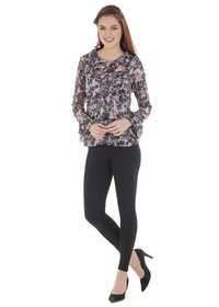 Printed Georgette Tops