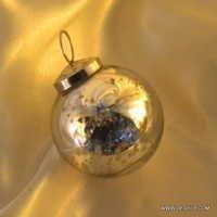 Glass Disco Ball Christmas Ornaments