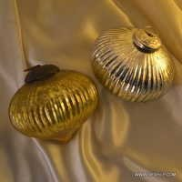 Glass Ornament Ball Dark Table Top Finials Dark Champagne Gold Glass Ball Christmas Orn
