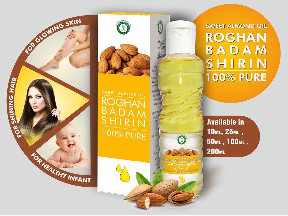 Roghan Badam Shirin (Almond Oil)