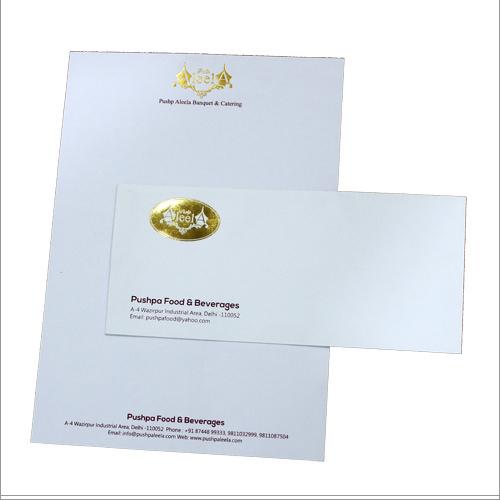 Leaf Printing Letterhead