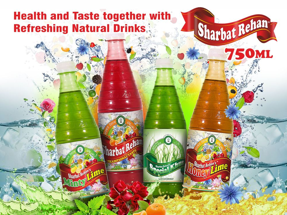 Sharbat - Herbal Syrup Concentrate