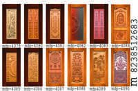 Membrane Digital Carving Door