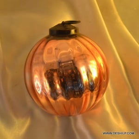 Gold Glass Ball Table Top Finials Ball Christmas Ornament