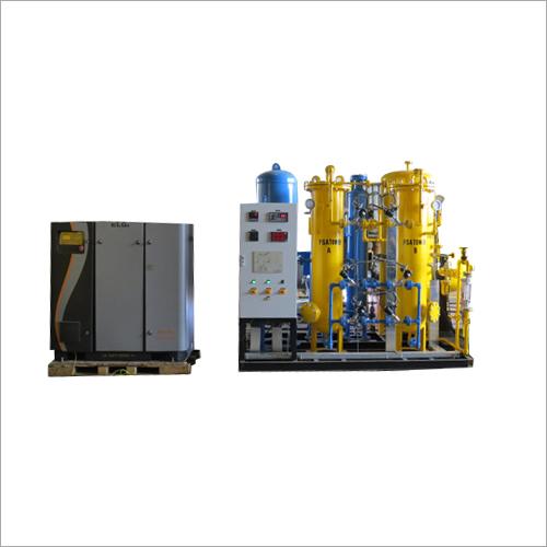 Nitrogen Gas Plant with Air Compressor