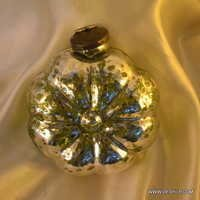 Christmas Ornament Vintage Pink Glass Christmas Tree Ornament