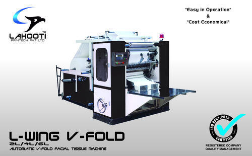 V Fold Napkin Machine