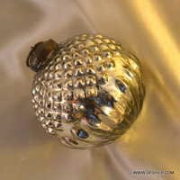 Handpainted hand blown glass ornaments