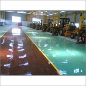 Car Showroom Flooring
