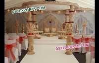 Wooden Damroo Mandap