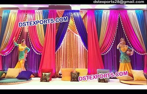 Beautiful Wedding Coloured Backdrops