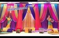 Beautiful Wedding Coloured Backdrops