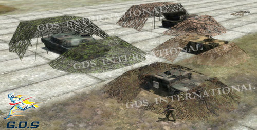 Vehicle Camouflage Nets