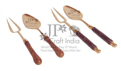 Brass Wood Spoon