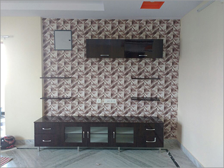 TV Cabinet Wallpaper