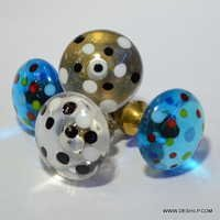 Knob Handle (Clear) Diamond Shape Crystal Door Drawer Pull Handle