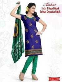 Wax Batik Print Salwar Suit Dupatta