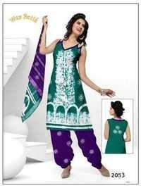 Latest Wax Batik Dress Jetpur