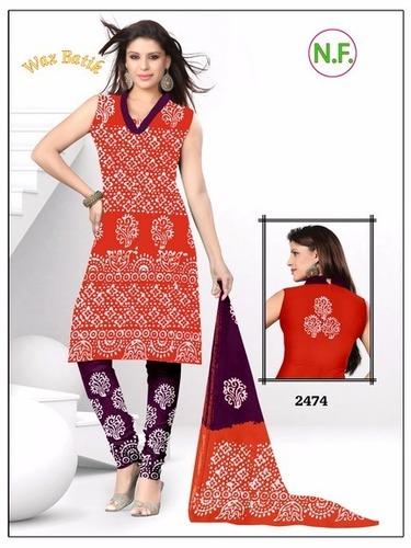 Wax Batik Dress Materials Wholesale