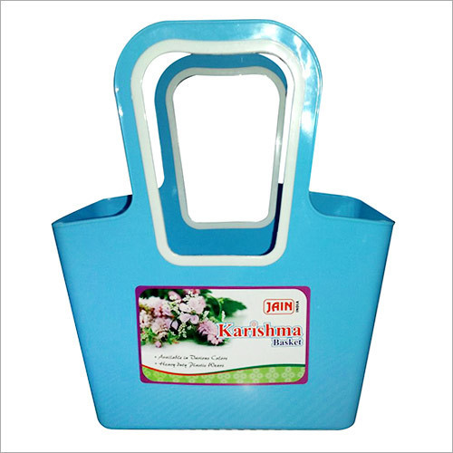 Hard Plastic Carry Basket