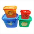 Plastic Snacks Box