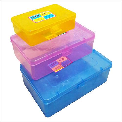 Plastic Lock Box