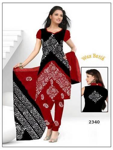 Pure Cotton Batik Print Salwar Suits