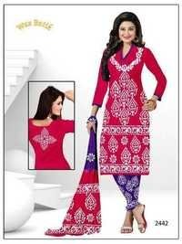 Latest Wax Batik Salwar Kameez