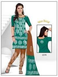 Wax Batik Salwar Suits Materials