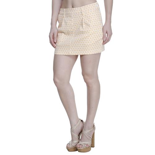 Pastel Color Short Skirt