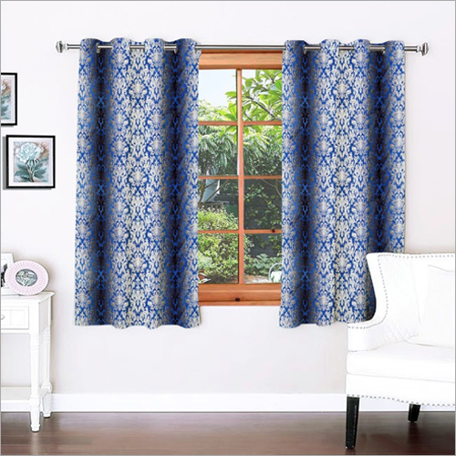 Signature Damask Navy Window