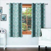 Signature Damask Aqua Window