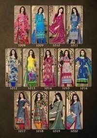 Cotton printed dress material baalar nyra vol-1