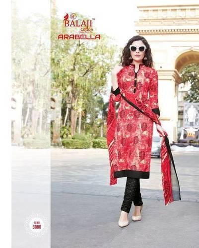 Balaji Cotton Printed Dress Material