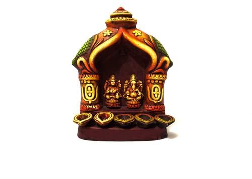 Ganesh Laxmi 5 Diya Mandir