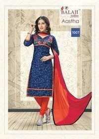 Cotton work suits chiffon dupatta balaji astha